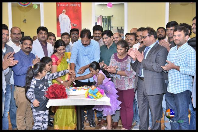 Chicago Telugu Community Celebrated Birthday Of YSR - Sakshi