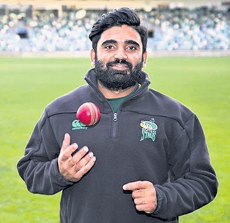 Indian-origin player in the New Zealand team - Sakshi