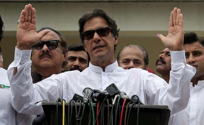 Imran Khan Won All Places in National Assembly Elections - Sakshi