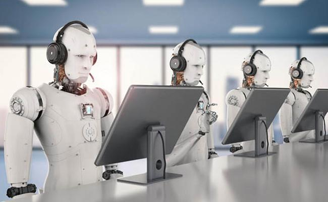 Call Centers Run By Artificial Intelligence - Sakshi