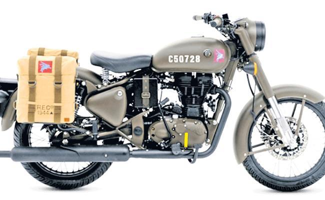 Crazy Sales Of New Model Royal Enfield Bikes - Sakshi