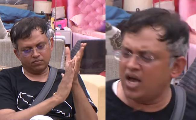 Social Media Slams Babu Gogineni Role In Bigg Boss - Sakshi