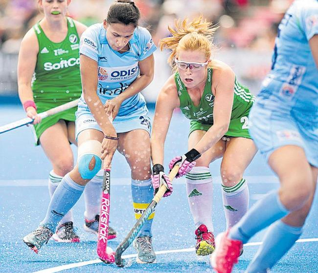 Ireland women rock India's Hockey World Cup hopes - Sakshi