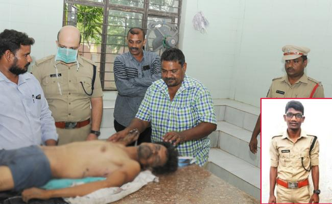 Protection Watcher Died In Tamil Smugglers Attacks YSR kadapa - Sakshi
