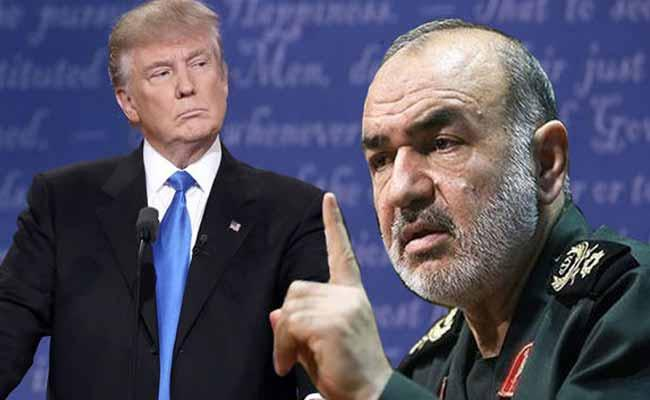 Iran Special Forces Cheif  Warns to US Ppresident - Sakshi