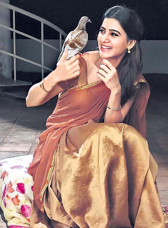 Samantha learnt martial art Silambam for Seema Raja - Sakshi