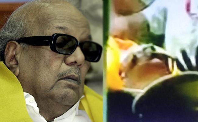DMK Chief Karunanidhi Condition Was Stable - Sakshi
