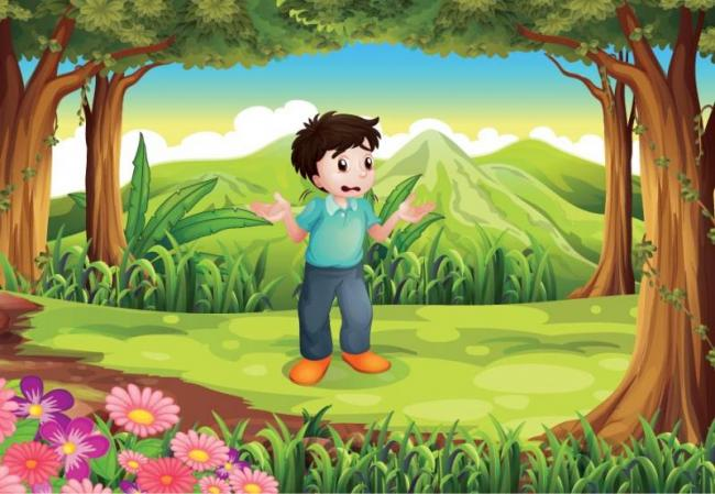 The kid told me to catch the child by holding the jungle and crossing the forest - Sakshi