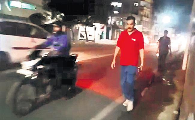 CP Anajani Kumar Walking Office To Home For A Cause - Sakshi