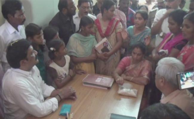 Ganta Srinivasa Rao Got A Bitter Experience In AP Residential School - Sakshi