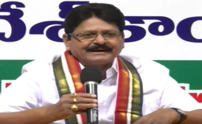 Sarve Satyanarayana On TDP And Congress Alliance - Sakshi