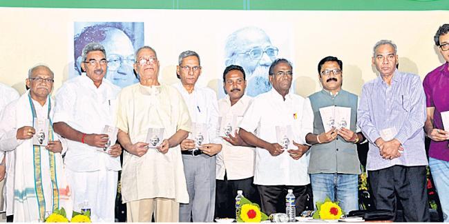 K ramachandra murthi at sahiti vahini conference - Sakshi