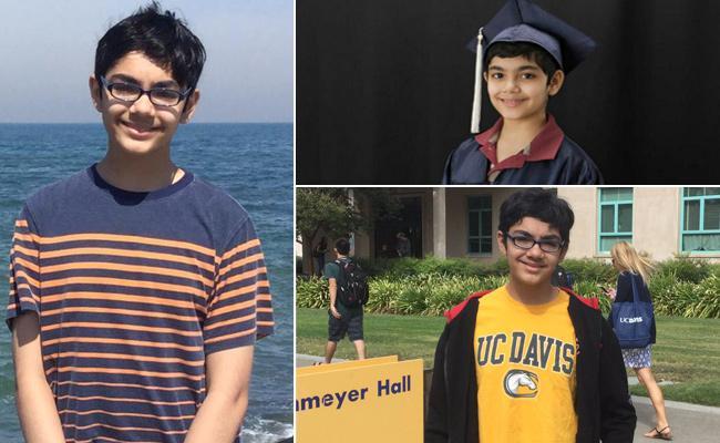 Indo-American Teen Graduates at 15 - Sakshi