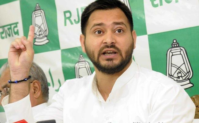 Tejaswi Yadav Says Bihar Ruling By Ravana Duryodhan - Sakshi