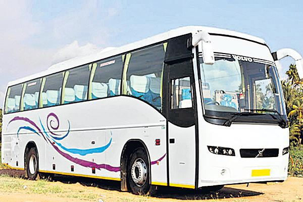Two buses in One permit  - Sakshi