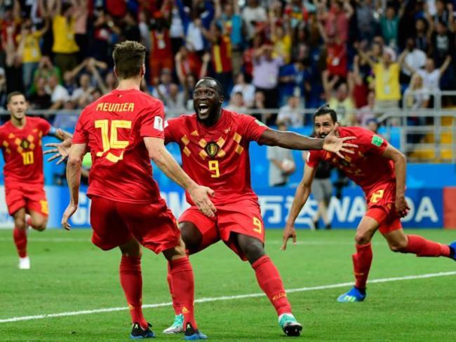 Belgium Beat Japan To Reach Quarter Finals - Sakshi