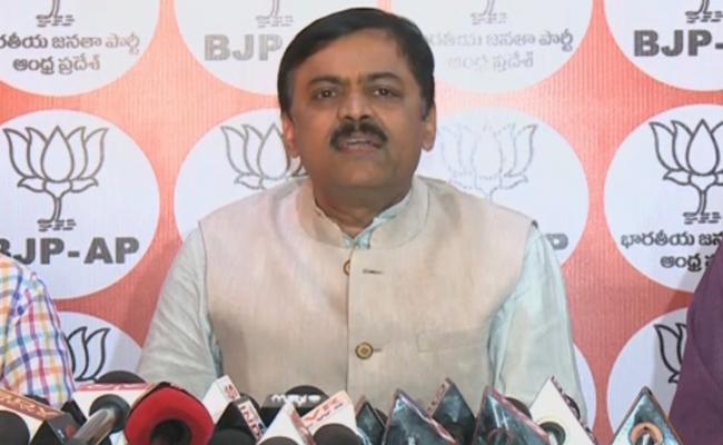 BJP GVL Narasimha Rao Fires On CM Chandrababu Naidu - Sakshi