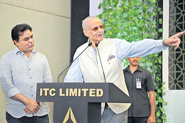 KTR launches ITC Kohenur - Sakshi