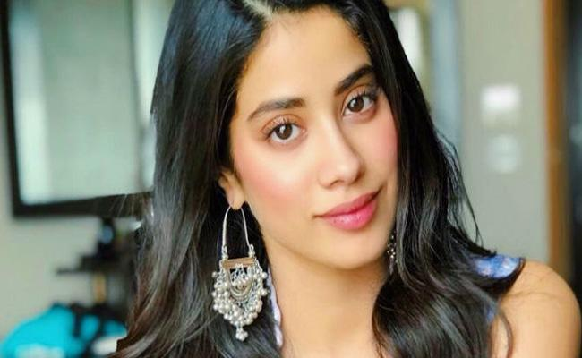 Janhvi Kapoor Photo Comments Read Carbon Copy Of  Sridevi - Sakshi