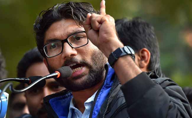 Modi Did lethal Surgical strike On People Says Jignesh Mevani - Sakshi