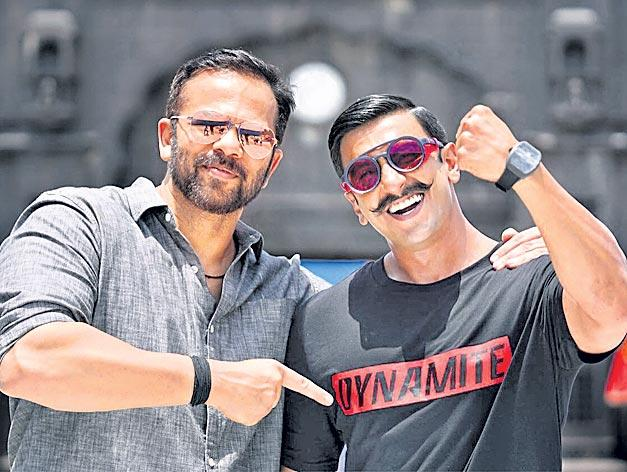 Ranveer Singh gets swanky watch as birthday gift from Rohit Shetty - Sakshi