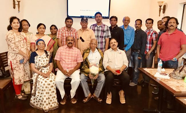 Indian American Friendship Council honours Peddi Sambashiva rao - Sakshi