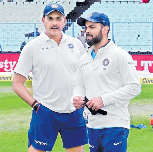 Kohli greatness is going to see Britain - Sakshi