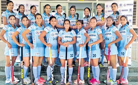 Hockey Womens World Cup : India draw 1-1 against USA - Sakshi
