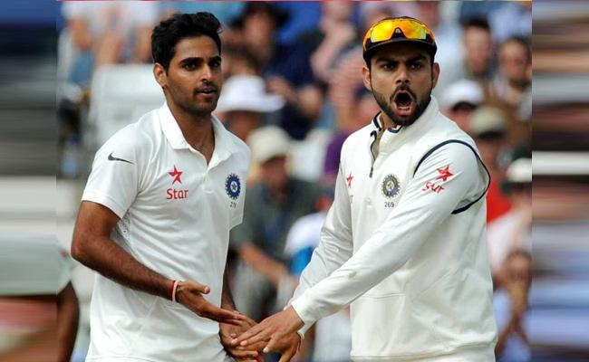 Bhuvneshwar Kumar Batting Record In England Better Than Virat Kohli - Sakshi