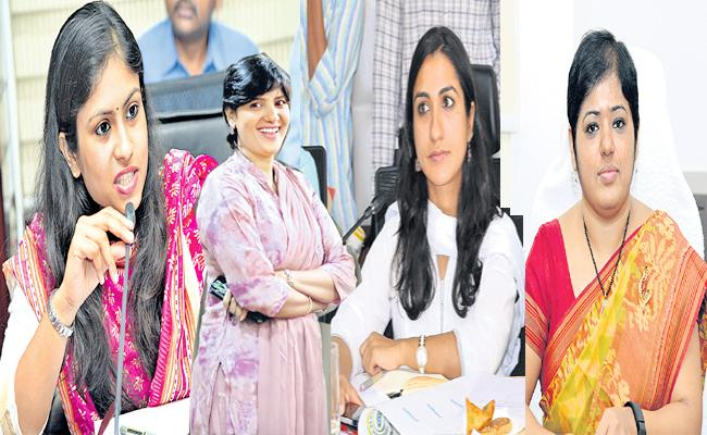 Women IAS Officers Special Story Hyderabad - Sakshi