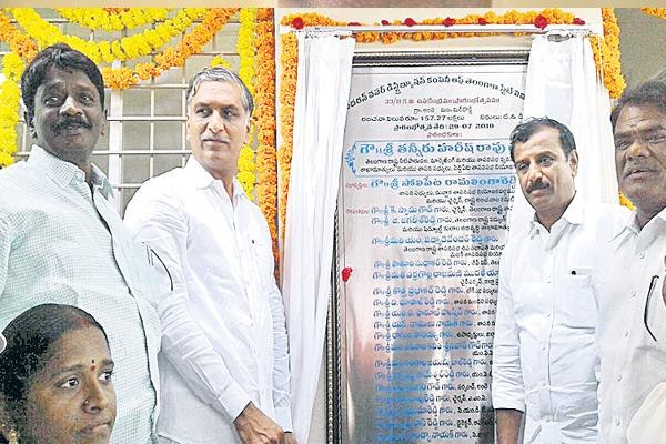 harish rao about farmers suicides - Sakshi