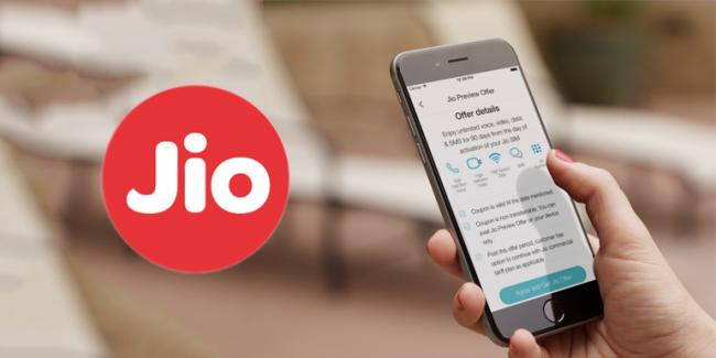 Jio Digital Pack Gives Select Users 2GB Extra Data Per Day - Sakshi