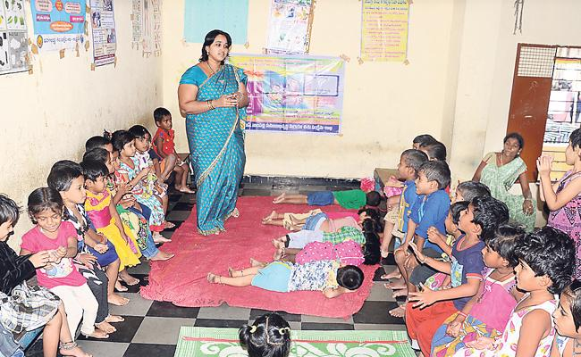 Eggs Are Not Distributed Properly For Anganwadi Centers - Sakshi