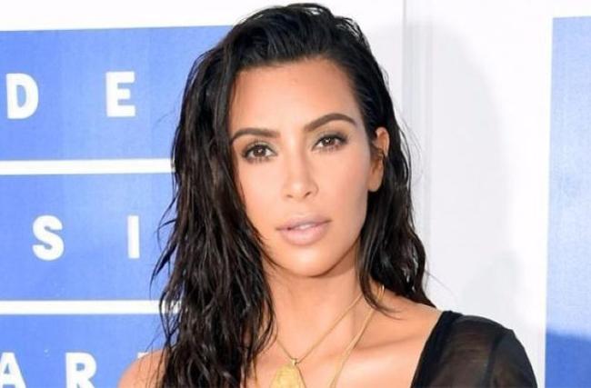 Kim Kardashian Told That She Was Nude When Donald Trump Calls her - Sakshi