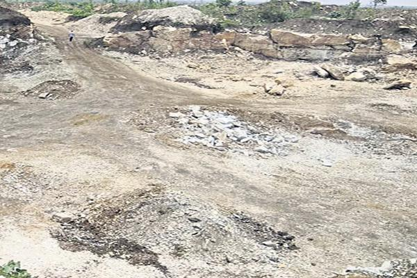illegal mining in tribal lands - Sakshi