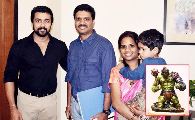 Software Engineer Designed Movie Character Toys In Visakhapatnam - Sakshi