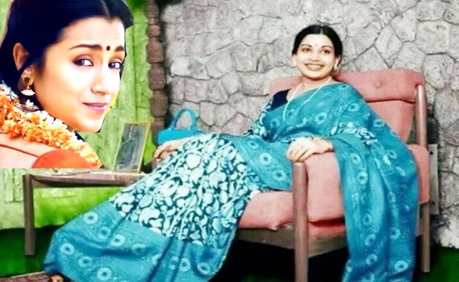 Trisha Acting In Jayalalitha Biopic - Sakshi