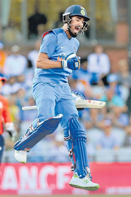 This century means the world to me: KL Rahul - Sakshi