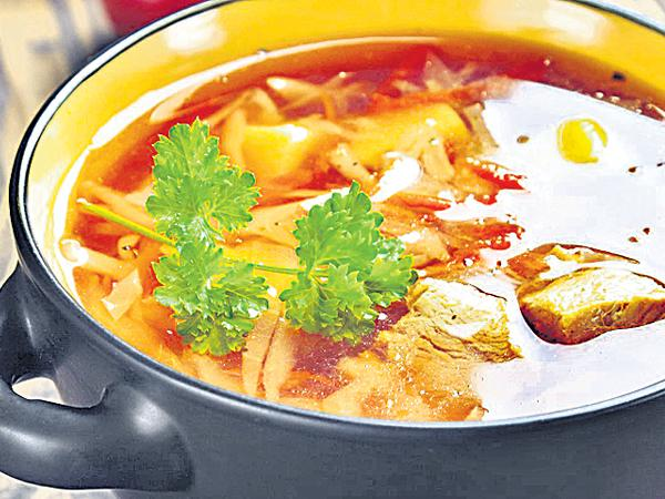 Chicken And Hot Sour Soup - Sakshi