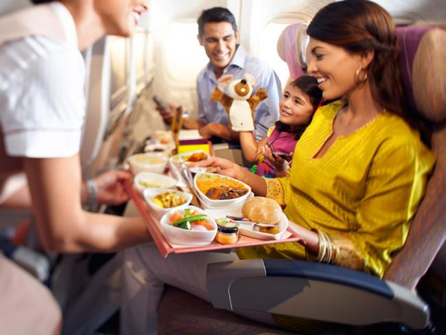 Emirates Reverses Decision, To Continue With Hindu Meals - Sakshi