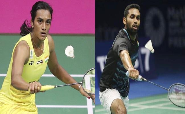 Sindhu, Prannoy enter quarterfinals of Indonesia Open  - Sakshi