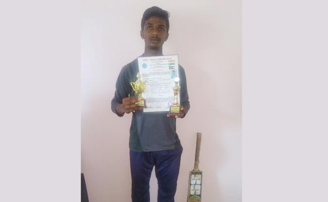 Guntur Boy Select For Under 19 Cricket Team Indo Nepal Tourney - Sakshi