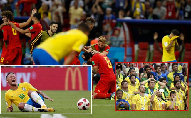 Belgium Dump Brazil out of FIFA 2018 World Cup - Sakshi
