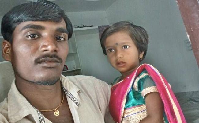 3 Year Old Baby Died in Kamareddy - Sakshi