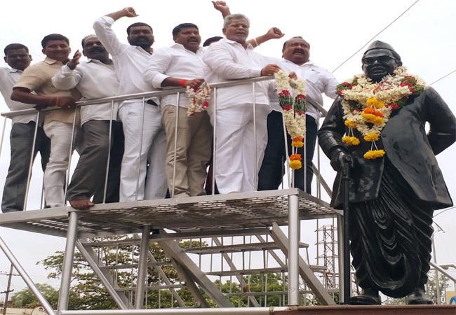 Babu Jagjivan Ram Death Anniversary In Karimnagar - Sakshi