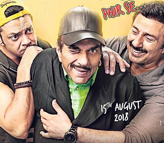 Yamla Pagla Deewana 3 to now release on August 31 - Sakshi