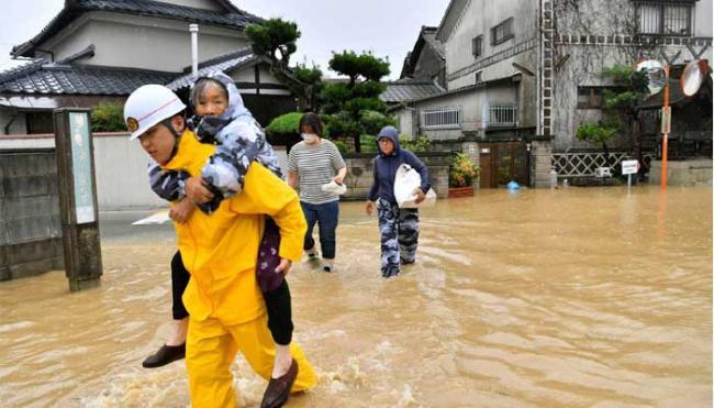 38 Dead In Japan Rains  - Sakshi
