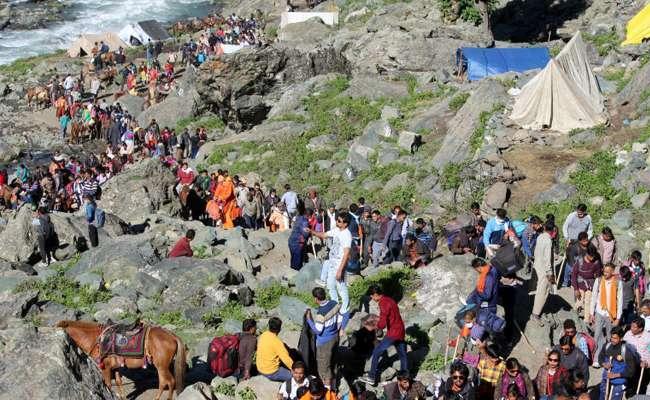 Telugu People Died in Amarnath Yatra - Sakshi