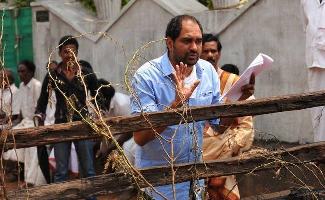 Krish Re-shoots  Manikarnika Scenes - Sakshi
