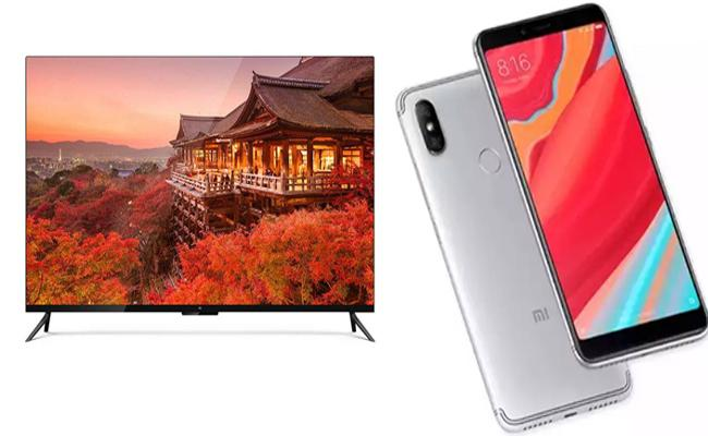 Xiaomi To Sell Redmi Note 5 Pro, Mi TV, Redmi Y2 For Rs 4 - Sakshi